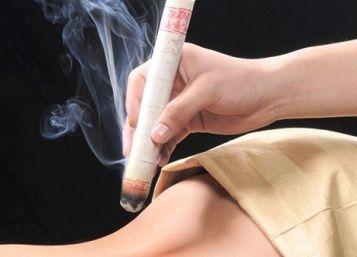 moxibustion stick
